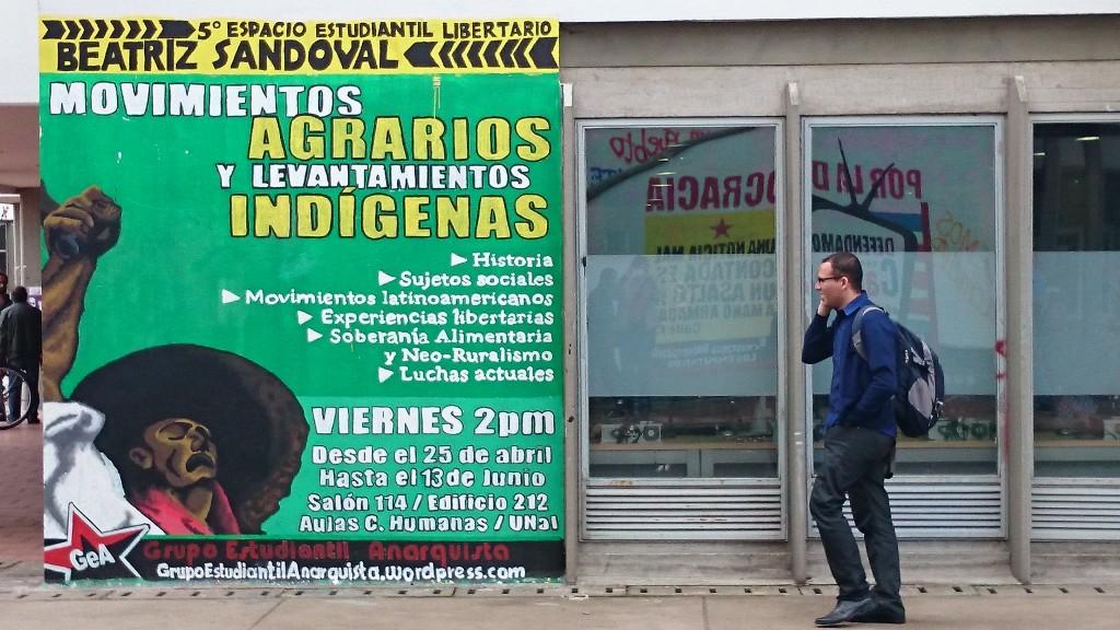 Alternative Vorlesungsankündigung zu Agrarbewegungen und Indigenen-Rebellion (Unicampus)