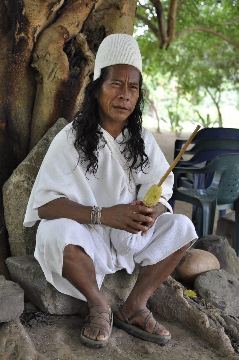 Camilo, ein Mamo der Arhuaco