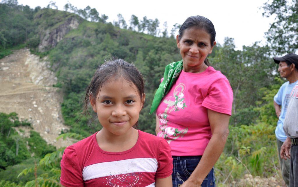 Eva aus Río Blanco, Honduras